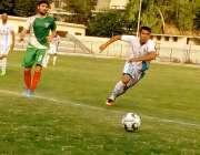 پشاور:28ویں چیلنج کپ میں پاکستان ائیرفورس اور پاکستان پولیس کی ٹیمیں ..