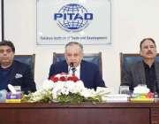 اسلام آباد: وزیر اعظم کے مشیر برائے تجارت و صنعت عبدالرزاق دائود نو ..