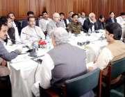 لاہور: وزیر اعلیٰ پنجاب سردار عثمان بزدار سے پنجاب اسمبلی کے کمیٹی ..
