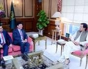 اسلام آباد: وزیراعظم عمران خان سے وائس پریذیڈنٹ ایشین ڈویلپمنٹ بیک ..