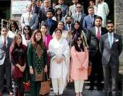 مظفر آباد: آزاد کشمیر کی سیکرٹری سیاحت، اطلاعات و آئی ٹی مدحت کا سول ..