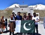 خنجراب: پاک چائنہ اکنامک راہداری بارڈر دیکھنے کے لیے آئے سیاح پاکستان ..