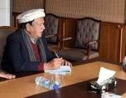 مظفر آباد: وزیراعظم آزادکشمیر راجہ محمد فاروق حیدر خان سے عوامی وفد ..