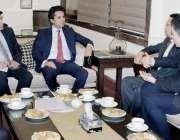 لاہور: صوبائی وزیر خزانہ مخدوم ہاشم جواں بخت چینی ماہرین کے وفد سے ملاقات ..