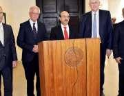 مظفر آباد: صدرآزاد جموں کشمیر سردار مسعود خان، آسٹریا کے سابق وزیر ..