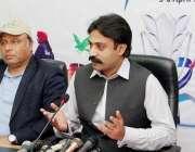 لاہور: صوبائی وزیرکھیل و امور نوجوان رائے تیمور خان بھٹی پنجاب گیمز ..