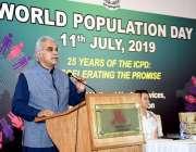 اسلام آباد: وزیر اعظم کے معاون خصوصی برائے صحت ڈاکٹر ظفر مرزا آبادی ..