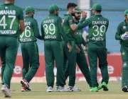 کراچی: پاکستان بمقابلہ سری لنکا ، تیسرا ون ڈے میچ کے دوران محمد عامر ..