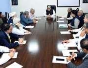 اسلام آباد: سپیکر قومی اسمبلی اسد قیصر پارلیمنٹ ہاؤس میں اجلاس کی صدارت ..