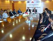 اسلام آباد: بریگیڈیئر (ر) وقار رشید خان ایم ڈی این ٹی سی اینڈ غضنفر علی، ..
