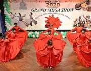 فیصل آباد:  آرٹس کونسل فیصل آباد کے زیر اہتمام گرینڈ میگا شو اور ثقافتی ..