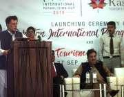 اسلام آباد: وزیر اعظم آزاد کشمیر راجہ محمد فاروق حیدر خان ایک تقریب ..