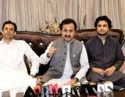 گھوٹکی: پاکستان تحریک انصاف کے رہنما و سندھ اسمبلی میں پارلیمانی لیڈر ..