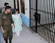 راولپنڈی: رکن پنجاب اسمبلی سیمابیہ طاہر تھانہ صادق آباد راولپنڈی کی ..