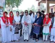 اسلام آباد: وزیر مملکت برائے موسمیاتی تبدیلی زرتاج گل ٹکسٹائل نمائش ..