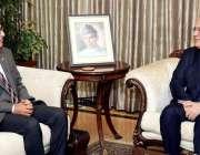 اسلام آباد: صدر مملکت ڈاکٹر عارف علوی سے ازبکستان کے سفیر فرکت صدیکوف ..