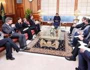 اسلام آباد: وزیر اعظم عمران خان سے جرمن وزیر خارجہ ہائیکوماس کی قیادت ..