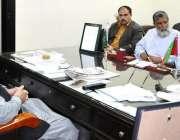 پشاور: صوبائی وزیر اطلاعات شوکت علی یوسفزئی سے ایس آر ایس پی کا وفد ..