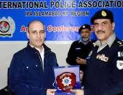 اسلام آباد: انٹر نیشنل پولیس ایسوسی ایشن (اسلام آباد۔خیبر پختونخوا) ..