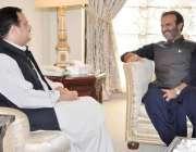 اسلام آباد: وزیر اعلیٰ پنجاب سردار عثمان بزدار سے منیجنگ ڈائریکٹر بیت ..