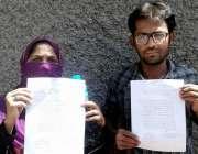 حیدر آباد: لطیف آباد کے رہائشی فرحان کی بازیابی کے لیے احتجاج کر رہے ..