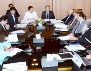 کراچی: وفاقی محتسب سید طاہر شہباز اجلاس کی صدارت کر رہے ہیں۔