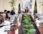 اسلام آباد: وفاقی وزیر خزانہ اسد عمر ای سی سی کے اجلاس کی صدارت کر رہے ..