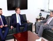 اسلام آباد: وزیر اعظم کے معاون خصوصی برائے پٹرولیم سے ورلڈ اکنامک فورم ..