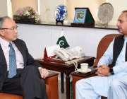 اسلام آباد: وفاقی وزیر برائے پٹرولیم و پاور سیکٹر عمر ایوب سے جاپان ..