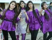 لاہور: مقامی کالج کے زیر اہتمام پنجاب سٹیڈیم میں منعقدہ سالانہ سپورٹس ..