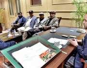 اسلام آباد: سینئر وزیر گلگت بلتستان حاجی اکبر تابان ، وزیر ورکس محمد ..