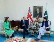 اسلام آباد: وزیر اعظم ہاؤس میں وزیر اعظم عمران خان سے کیمبرج کے ڈیوک ..