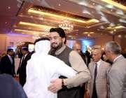 اسلام آباد: وزیر سیفران و انسداد منشیات شہر یار آفریدی سویڈن قومی دن ..
