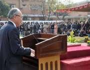 اسلام آباد: نیشنل یونیورسٹی آف ماڈرن لینگویجز میں جاپان کے سفیر کونینوری ..