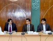 اسلام آباد: وفاقی وزیر برائے پلاننگ، ترقی و اصلاحات مخدوم خسرو بختیار ..