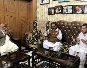 راولپنڈی: اپوزیشن لیڈر چودھری محمد یٰسین عبدالسلام بٹ کی وفات پر فاتحہ ..