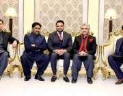 لاہور: تحریک انصاف کے رہنما محمد شاہد کی دعوت ولیمہ کی تقریب میں صوبائی ..