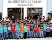 کراچی: کے الیکٹرکٹ کی جانب سے مائی ہوم المصطفیٰ میں رہائش پذیر بچوں ..