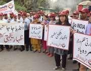 لاہور : رحمن فاؤنڈیشن کے زیراہتمام کشمیریوں سے اظہار یکجہتی اور بھارت ..