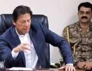 اسلام آباد: وزیر اعظم عمران خان اعلیٰ سطحی اجلاس سے خطاب کر رہے ہیں۔