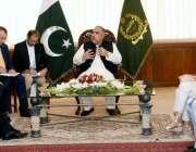 اسلام آباد: سپیکر قومی اسمبلی اسد قیصر سے(Czech)پارلیمنٹ کا وفد ملاقات ..
