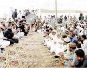 بارتھی: وزیر اعلیٰ پنجاب سردار عثمان بزدار کے والد سردار فتح محمد خان ..