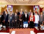 اسلام آباد: وزیر برائے ایوی ایشن ڈویژن میاں سومرو کا 27ویں سٹیرنگ کمیٹی ..