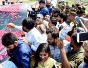 لاہور: مسلم لیگ (ن) کی مرکزی نائب صدر مریم نواز کوٹ لکھپت جیل میں قید ..