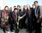 فیصل آباد: وزیراعظم کے مشیر عبدالرزاق داؤد فیصل آباد گارمنٹ سٹی کمپنی ..