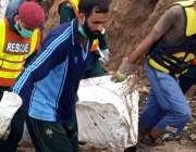 راولپنڈی: بحریہ ٹاؤن فیز7کے برساتی نالے میں طغیانی کے ریلے کی نذر ہونے ..