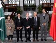 بیجنگ: چین کے لیے پاکستان کے سفیر مسعود خالد کا سالانہ اجلاس کے موقع ..