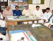 لاہور:محکمہ اریگیشن سب انجینئرز کے اجلاس میں شیخ معظم، عامر ندیم، نعیم ..