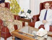 اسلام آباد: صدر آزاد جموں و کشمیر سردار مسعود خان ایس سی او کے ڈائریکٹر ..