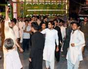 راولپنڈی: تھانہ بنی اصغر مال کے خلاف شہری احتجاج کر رہے ہیں۔